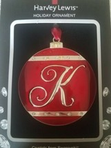 "Harvey Lewis ""K"" Ornament upc 887915012195 - $39.48"