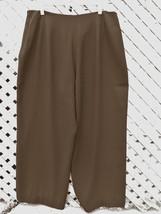 Lauren Ralph Lauren Womens 16W Black High Rise Career Pants Plus (cv) - $16.14