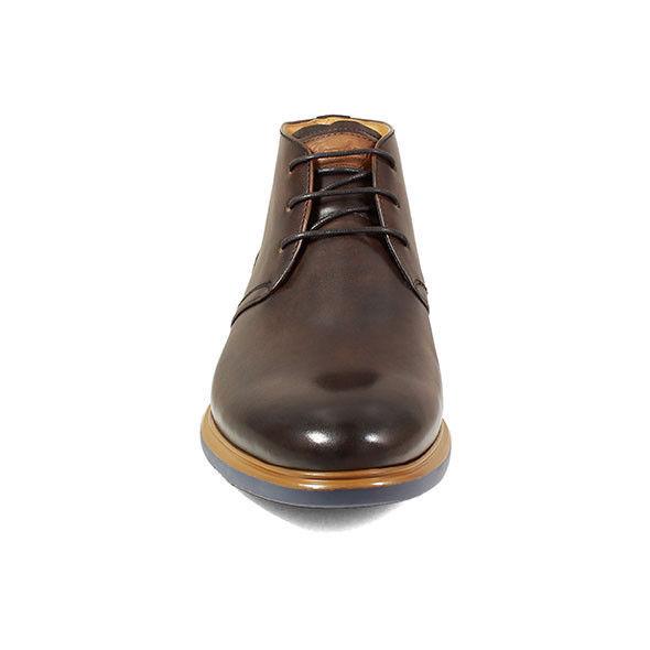 Florsheim Vandall Cap Toe Lace Up Boot Tan Dressy 15174-240