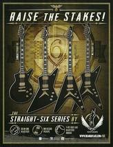 Dean Cadillac Z V ML Straight-Six Series Guitar ad 8 x 11 advertisement print - $4.50
