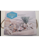 Seashore Miniatures In Wooden Sandbox Crate New in Package - $21.00