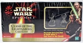 Star Wars Clash Of The Lightsabers Card Game Hasbro Free Ship! Games