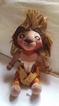 "10"" Disney The Lion King Broadway Simba Stuffed Animal Doll pre-owned ki... - $23.51"