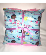 Doc McStuffins Pillow And Blanket Dr McStuffins Pillow and Blanket Set H... - $19.99