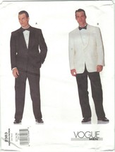 Vogue 2383 Men's Single Breasted Tuxedo Suit & Dinner Jacket Choose Size... - $14.99