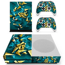 Nice wallpaper xbox one S console and 2 controllers - $15.00