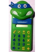 VINTAGE TMNT 1988 Teenage Mutant Ninja Turtles Calculator Leonardo - $29.69