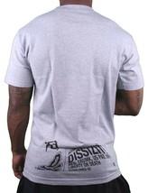 Dissizit Mens Grey FYSP Fu$k Your Skate Park Skateboarding T-Shirt SST12-593 NWT image 2