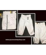 "Easton Pro+Knicker Piped Baseball Pants White Black Trim Sz M 31-32"" - $16.99"