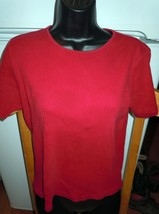 Talbot's Petites Rust Knit Top Size Medium - $5.99