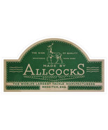 Allcocks fishing tackle logo exact replica multipack 5 vinyl stickers 10... - $11.91