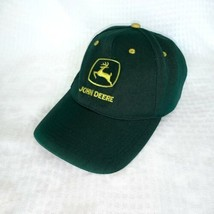 John Deere Classic Logo Hat Ball Cap SnapBack Trucker Farmer Adjustable ... - $22.26
