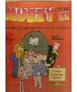 MUZZY BBC Language Course for Children SPANISH Level II (4 VHS Tapes, 2 ... - $79.99