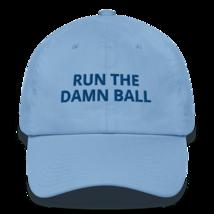 Run the Damn Ball hat / run the Damn Ball / Cotton Cap image 6