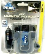 LED MAGNETIC WORKLIGHT PKCOTS PEAK 10 FT CORD 6 LED 12V SOCKET Sealed! - $7.83