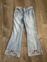 Jolt Jeans w Embroidered Details Size 10 - $12.99