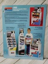 Monogram 1986 form 1pg advertisement Daytona spyder shirt promotion (A10) - $9.90