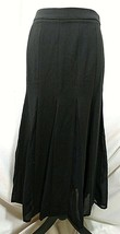 "STYLEWE Black Skirt Medium ""XL"" Flowy Fit & Flare SHANGMAN 6 8 Maxi Long... - $21.76"