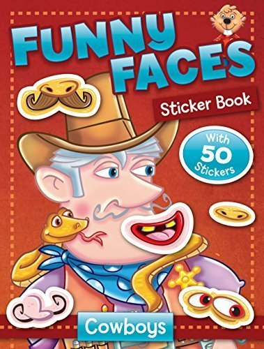Primary image for Funny Faces Sticker Book: Cowboys (Funny Faces Sticker Books) by Beaver Books (2
