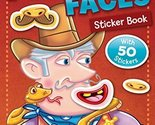 Funny Faces Sticker Book: Cowboys (Funny Faces Sticker Books) by Beaver Books (2