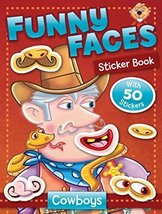 Funny Faces Sticker Book: Cowboys (Funny Faces Sticker Books) by Beaver ... - $8.37