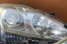 06-08 Lexus iS250 iS350 Halogen Headlight Lamps Set Left Right L&R POLISHED image 7