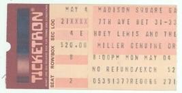 Rare HUEY LEWIS 5/4/87 NYC NY Madison Square Garden Concert Ticket Stub! - $5.93