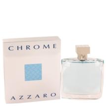 Azzaro Chrome Cologne 3.4 Oz Eau De Toilette Spray image 1