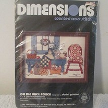 On the Back Porch Counted Cross Stitch Kit - $14.80