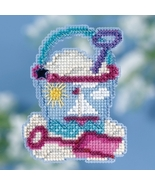 Beach Bucket Spring Series 2018 seasonal ornament kit cross stitch Mill ... - $7.20