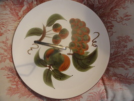 Stangl Pottery Orchard Song Tidbit Handled Cookie Plate Mint Signed - $9.99