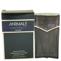 Animale Instinct by Animale Eau De Toilette Spray 3.4 oz for Men - $37.40