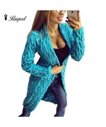 2018 New Fashion Women Knitted Sweater Coat Autumn And Spring Long Sleev... - $120.00