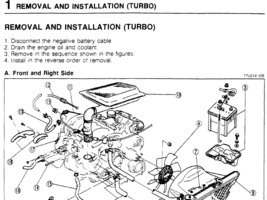 1986-1991 Mazda RX-7 Factory Repair Service Manual - $12.99