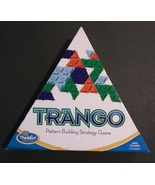 ThinkFun TRANGO BOARD GAME Pattern Building Strategy EXCELLENT CONDITION - $8.99
