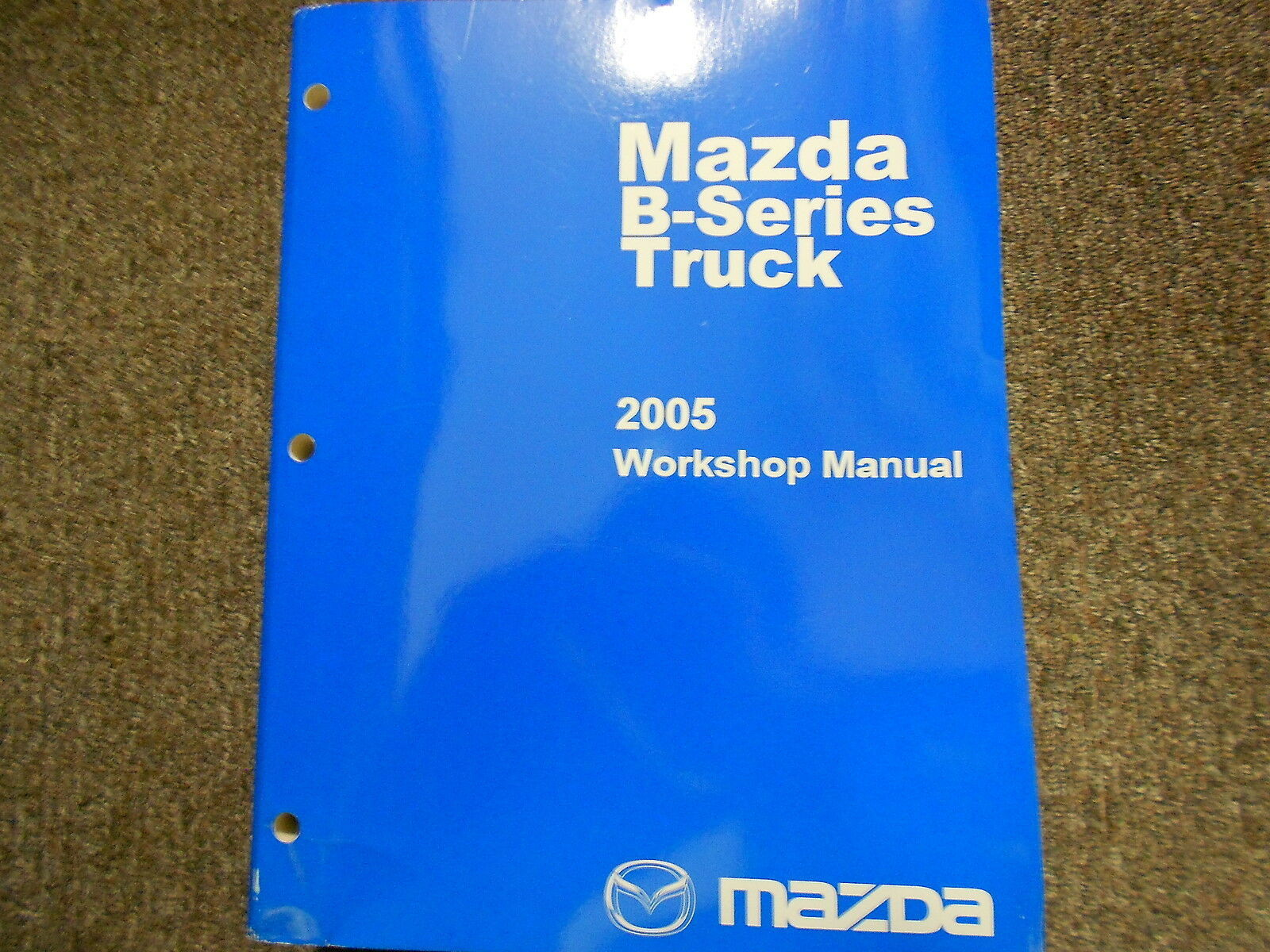 2005 Mazda B-Serie Truck Service Reparatur Shop Manuell Fabrik OEM Buch 05