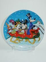 Schmid Disney 1988 Collectors Warm Winter Ride Annual Plate #5112 - $17.09