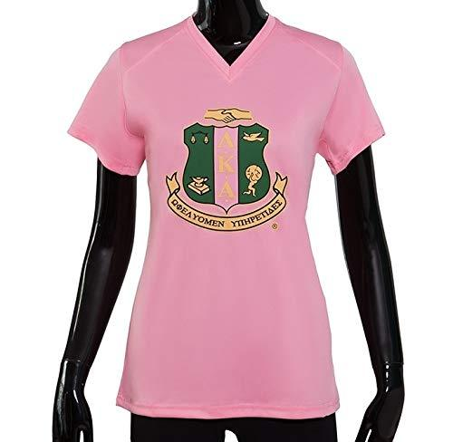 Primary image for Alpha Kappa Alpha High Performance Tee Shield Medium