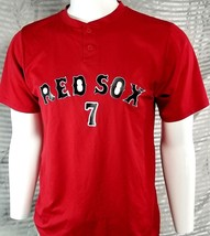 Under Armour Boston Red Sox Adult sz M Athletic Baseball Shirt / RED  Men - $14.25