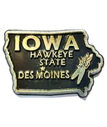 Iowa The Hawkeye State Souvenir Fridge Magnet - $3.25