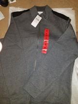 Calvin Klein Men's Full Zip Mock Neck Collar Sweater - Size:M. L XL & XXL - $22.50