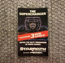 Starpath Corporation / Arcadia The Supercharger Atari 2600 Promotional I... - $14.25