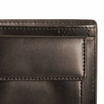 Calvin Klein Ck Men's Leather Wallet Id Billfold With Coin Case Brown 79600 image 7