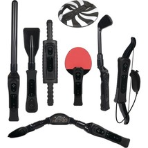 An item in the Everything Else category: CTA Digital WI-8SRB Nintendo Wii 8-in-1 Sports Pack for Wii Sport Resort (Black)
