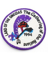 1994 Boy Scout Land of the Oneidas The Gathering of the Nations Patch BS... - $10.84