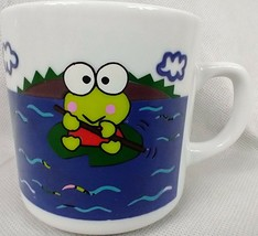 Kero Kero Keroppi Mug Cup Sanrio Made in Japan 1996 RARE - $29.65