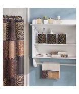 Bath Ensemble Savannah Jungle print essentials bathroom set - $23.95