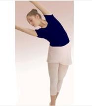 Capezio 9908 Women's Size Extra Large (14-16) Navy Blue Short Sleeve Leo... - $21.77