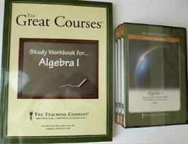 Algebra I - The Great Courses - Science and Mathematics - 6 DVDs Plus On... - $39.99