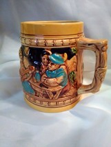 Apex beer stein Japan ceramic mug Lady Music Auf Der Alm. Da Ist Es Scho... - $3.95